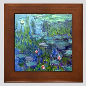 12mo Monet 20 Framed Tile