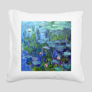12mo Monet 20 Square Canvas Pillow