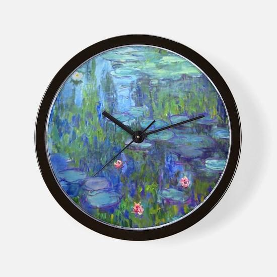 12mo Monet 20 Wall Clock