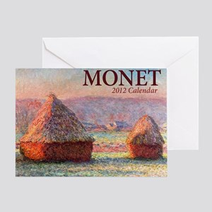 12mo Monet Cover Greeting Card