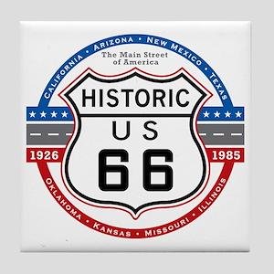 Route_66 Tile Coaster