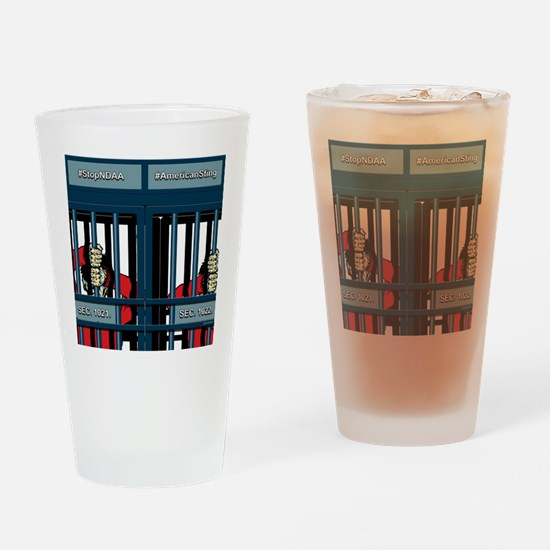 NDAA Drinking Glass