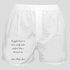 a joyful heart Boxer Shorts