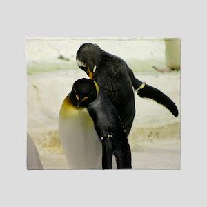 Emperor Penguins 6 Throw Blanket