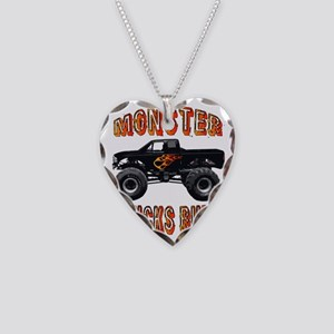 trucksrule Necklace Heart Charm