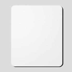 Gramaphone-White Mousepad