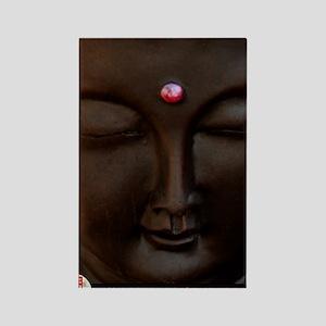 Buddha with MG logo Rectangle Magnet