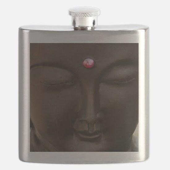 Buddha with MG logo Flask