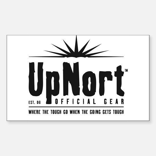 UpNort Rectangle Decal