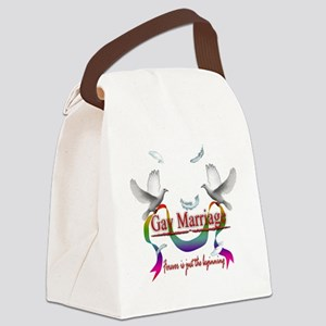 Gay Marriage Forever is just the  Canvas Lunch Bag