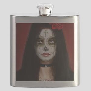 pretty vacant dia de muertos Flask