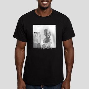 Plans Men's Fitted T-Shirt (dark)