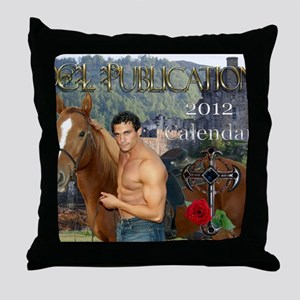 11.5x9 print calendar Throw Pillow