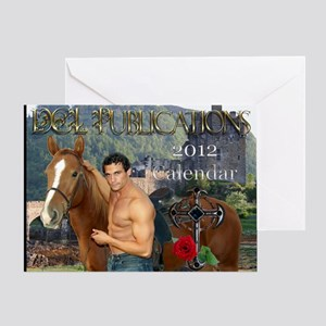 11.5x9 print calendar Greeting Card
