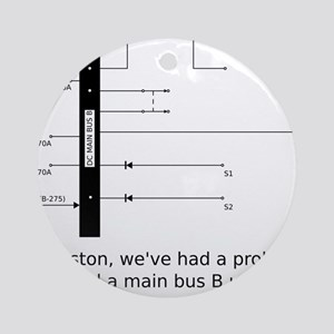 a13_smbus-apparel Round Ornament