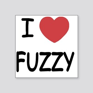 "FUZZY Square Sticker 3"" x 3"""