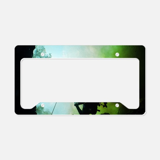 Great Outdoors Diver License Plate Holder