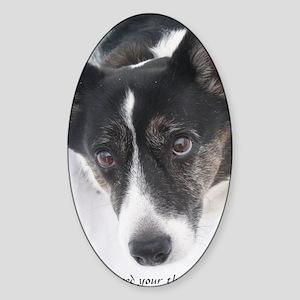 Therapist Dot Sticker (Oval)