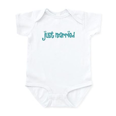 just married Infant Bodysuit