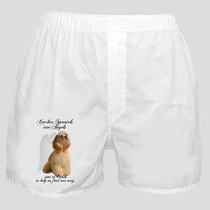 Angel Cocker Boxer Shorts