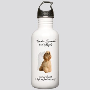 CockerAngelDark2 Stainless Water Bottle 1.0L