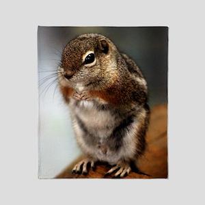 Harriss Antelope Ground Squirrel Throw Blanket