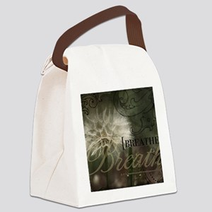 1-Breathe Canvas Lunch Bag