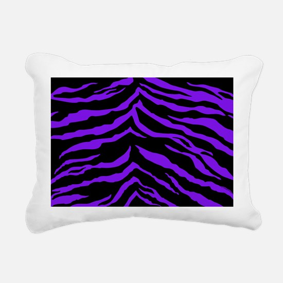 laptopskinspurpblktigers Rectangular Canvas Pillow