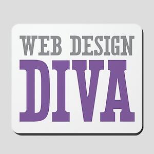 Web Design DIVA Mousepad