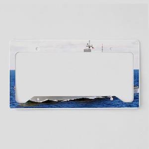bainbridge lare framed print License Plate Holder
