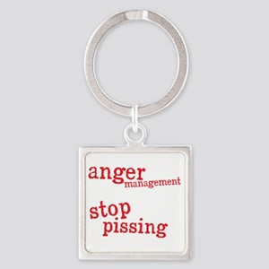 angermanagementdrk Square Keychain