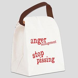 angermanagementdrk Canvas Lunch Bag