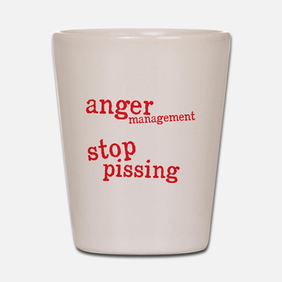 angermanagementdrk Shot Glass