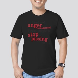 angermanagement Men's Fitted T-Shirt (dark)