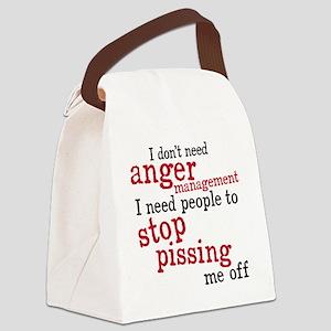 angermanagement Canvas Lunch Bag
