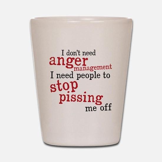 angermanagement Shot Glass