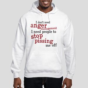 angermanagement Hooded Sweatshirt