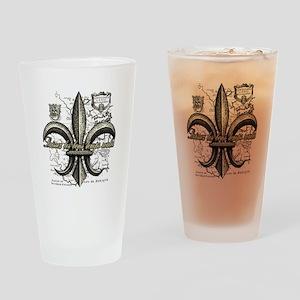 New Orleans Laissez les bons temps  Drinking Glass