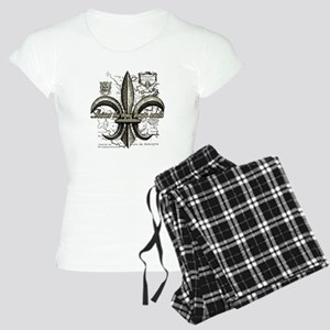 New Orleans Laissez les bon Women's Light Pajamas