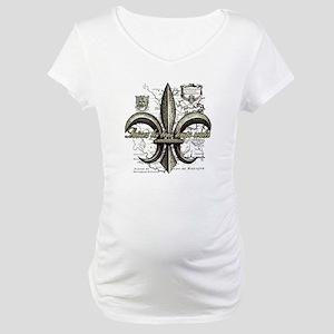New Orleans Laissez les bons tem Maternity T-Shirt