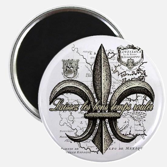 New Orleans Laissez les bons temps rouler Magnet
