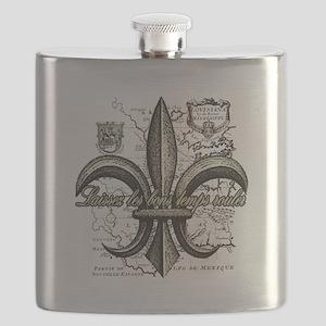 New Orleans Laissez les bons temps rouler Flask