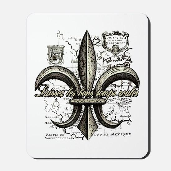 New Orleans Laissez les bons temps roule Mousepad