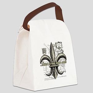 New Orleans Laissez les bons temp Canvas Lunch Bag