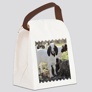 Twin goats Canvas Lunch Bag