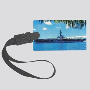 benninton framed panel print Large Luggage Tag