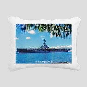 benninton lare framed pr Rectangular Canvas Pillow