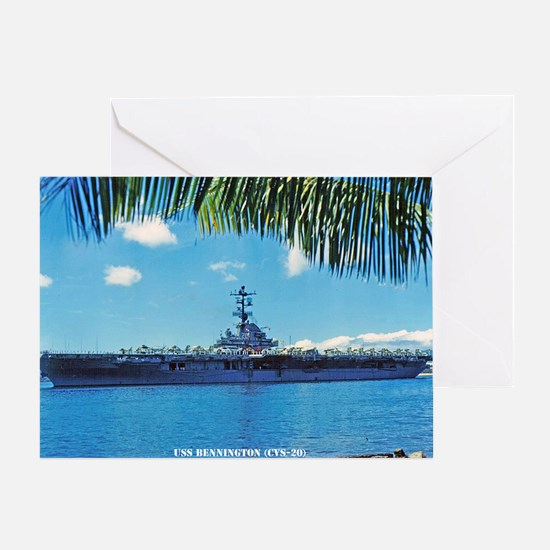 benninton lare framed print Greeting Card