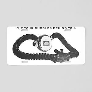 royalbubbles Aluminum License Plate