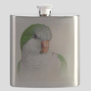 Green Quaker Flask